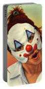 A Clown In My Backyard Portable Battery Charger