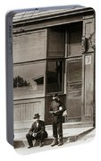 A Coal Miners Bar  George Ave Parsons Pennsylvania Early 1900s Portable Battery Charger