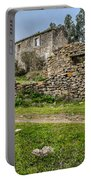 A Cottage In Ruins Portable Battery Charger