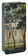 A Country Residence Possibly General Moreau's Country House At Morrisville Pennsylvania Portable Battery Charger