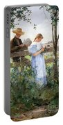 A Country Romance Portable Battery Charger