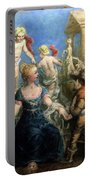 A Courtly Couple Courting Portable Battery Charger