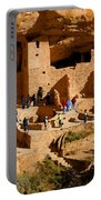A Day At Mesa Verde Portable Battery Charger