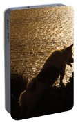 A Dogs View Portable Battery Charger