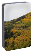 A Drive Throw The Forest In The Fall Portable Battery Charger