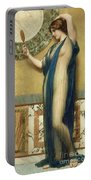 A Fair Reflection Portable Battery Charger by John William Godward
