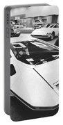 A Ferrari Modulo At Auto Show Portable Battery Charger