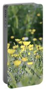 A Field Of Buttercups Portable Battery Charger