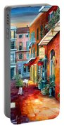 A French Quarter Evening Portable Battery Charger