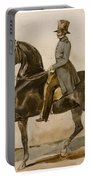 A Gentleman On Horseback With A Subsidiary Study Of The Horse's Head Portable Battery Charger