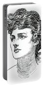 A Gibson Girl By Charles Dana Gibson Portable Battery Charger