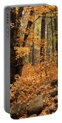 A Golden Autumn Forest  Portable Battery Charger