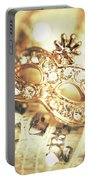 A Golden Occasion Portable Battery Charger
