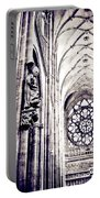 A Gothic Church Portable Battery Charger