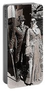 A Gothic Stroll Portable Battery Charger