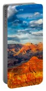 A Grand Canyon Sunset Portable Battery Charger