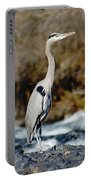A Great Blue Heron At The Spokane River 2 Portable Battery Charger