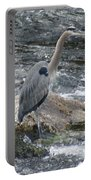 A Great Blue Heron At The Spokane River 3 Portable Battery Charger