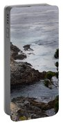 A Grey Day At Big Sur Portable Battery Charger