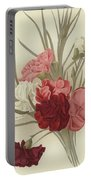 A Group Of Clove Carnations Portable Battery Charger