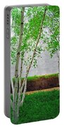 A Grove Of Birches 2 Portable Battery Charger