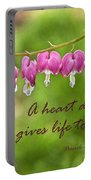 A Heart At Peace Portable Battery Charger