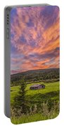 A High Dynamic Range Photo Of A Sunset Portable Battery Charger