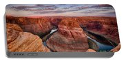 A Horseshoe Bend Morning  Portable Battery Charger