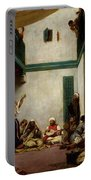 A Jewish Wedding In Morocco Portable Battery Charger by Ferdinand Victor Eugene Delacroix