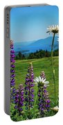 A June Day In Heaven Portable Battery Charger by Kendall McKernon