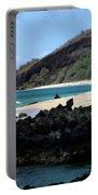 A L O H A  E Ala E Puu Olai Oneloa Big Beach Makena Maui Hawaii Portable Battery Charger