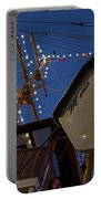 A Lifeboat Named Maria Boston Tall Ships 2017 Lighted Mast Boston Ma Portable Battery Charger