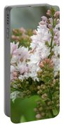 A Lilac Bouquet Portable Battery Charger