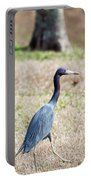 A Little Blue Heron Portable Battery Charger