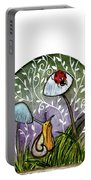 A Little Chat-ladybug And Snail Portable Battery Charger