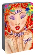 A Little Dragonfly Spell Portable Battery Charger