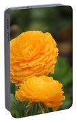 A Little Honey Ranunculus Portable Battery Charger