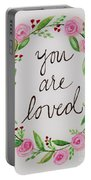 A Love Note Portable Battery Charger
