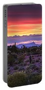 A Magical Desert Morning  Portable Battery Charger