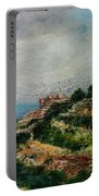A Maltese Country Landscape Portable Battery Charger