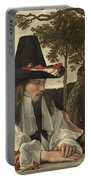 A Man Reading, Anonymous, C. 1660 Portable Battery Charger