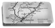 A Map Of The Nurburgring Circuit Portable Battery Charger