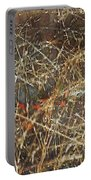 A Misty Rain In Autumn Portable Battery Charger