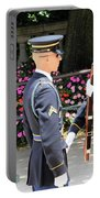 Face To Face During The Changing Of The Guard Portable Battery Charger
