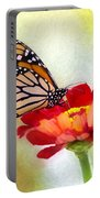 A Monarch Moment Portable Battery Charger