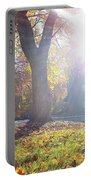 A Morning In Fall Portable Battery Charger