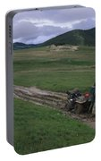 A Muddy Dilemma - California Condor Recovery Team Portable Battery Charger