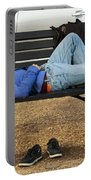 A Nap In The Park Portable Battery Charger