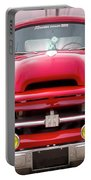 A Nice Red Truck  Portable Battery Charger