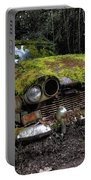 A Non Rolling Car Gathers Some Moss Portable Battery Charger
